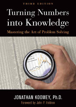 Turning Numbers into Knowledge, 3rd Ed.